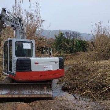 Benifairó inicia la segona fase d'eliminació de la canya al Riu Vaca