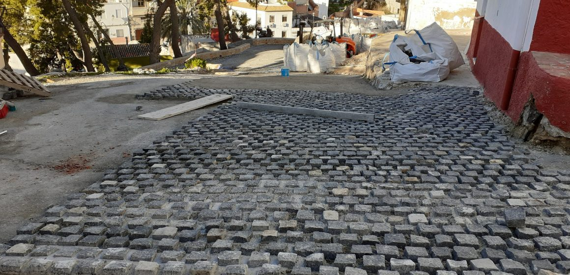 Les obres de renovació urbana del Centre Històric d'Oliva entren en la recta final