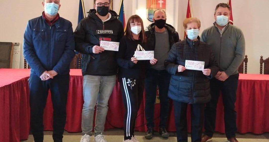 L'Alcúdia de Crespins tanca la Campanya de Nadal repartint més de 2.000 euros en premis i xecs regals