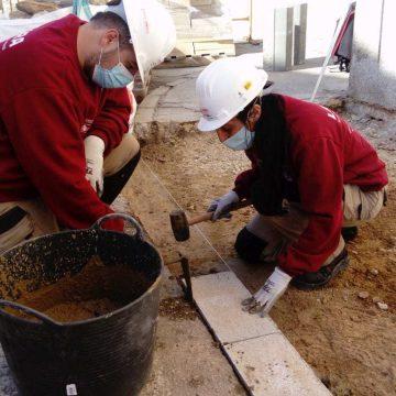 L'Ajuntament de Tavernes millora l'accessibilitat de les voreres del carrer Mariano Benlliure