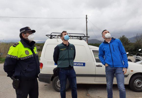 Oliva instal·la càmeres de videovigilància en zones rurals del terme