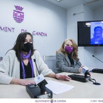 Gandia dedica el 8 de març a les professionals que lluiten contra la Covid-19