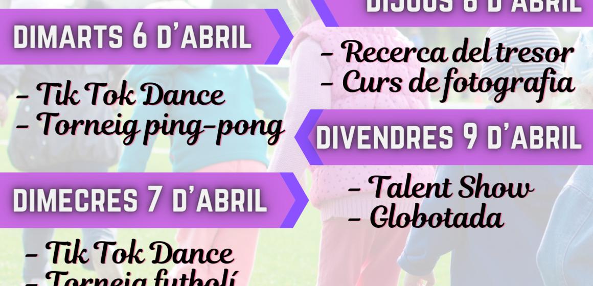 Simat organitza tallers de Pasqua gratuïts per a la població infantil