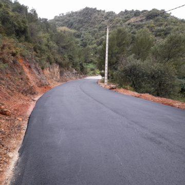 La Font d'En Carròs continua amb la millora dels camins rurals