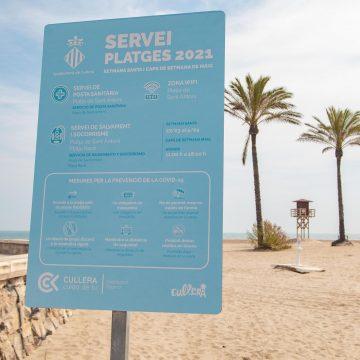 Cullera instal·la servei wifi gratuït a la platja de Sant Antoni