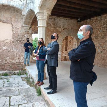 El vicepresident segon del Consell visita el Monestir de la Valldigna