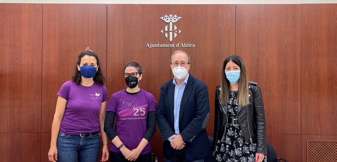 Alzira donarà suport a les víctimes del COVID amb el conveni amb Psicòlegs sense Fronteres