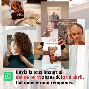 Simat prepara el concurs «Bookface» per celebrar el Dia del Llibre