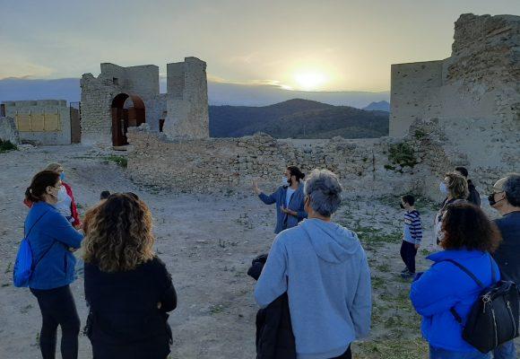 2.500 persones visiten el Parc Arqueològic del Castell de Bairén durant els quatre dies de Pasqua