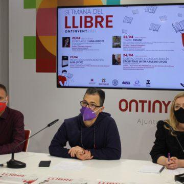 """Ontinyent celebrarà el """"Dia del Llibre"""" amb una setmana d'activitats presencials i online"""