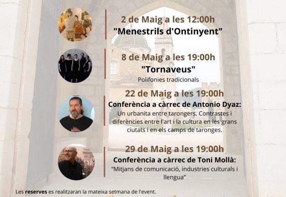 La Mancomunitat de la Valldigna presenta la seua programació cultural per a maig