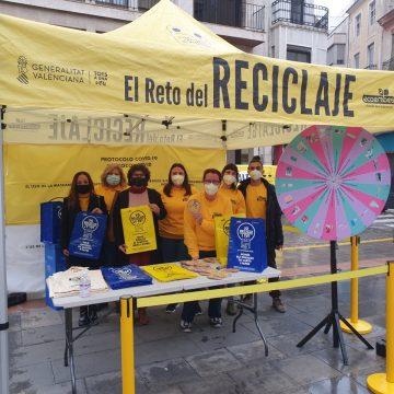 Sueca s'uneix a 'El Repte del Reciclatge'