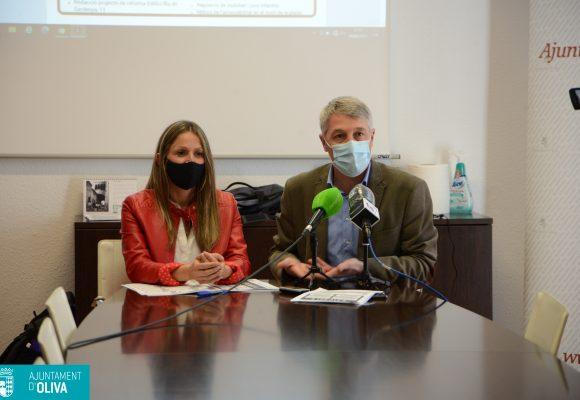 L'Ajuntament d'Oliva mobilitza 5'3 milions d'euros per a inversions