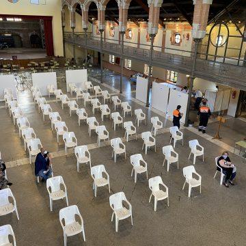 El Magatzem de Ribera s'estrena com a punt de vacunació a Carcaixent