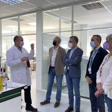 El Conseller Arcadi España visita la planta de ADM Wild a Carcaixent