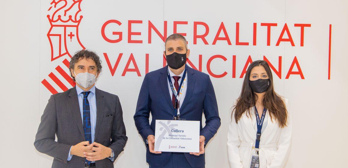 Cullera rep en Fitur la condició de municipi turístic de la Comunitat Valenciana