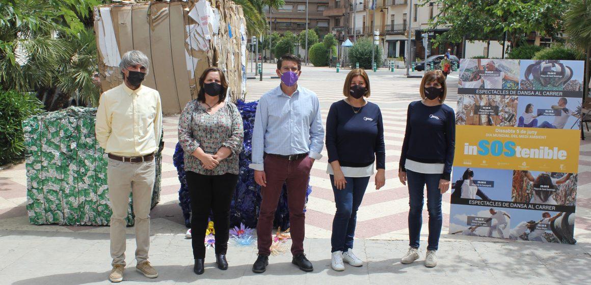 Ontinyent organitza 8 sessions d'un espectacle de dansa al carrer per conscienciar sobre el canvi climàtic