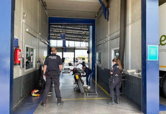 La Policia Local d'Alzira immobilitza 7 ciclomotors més per irregularitats greus