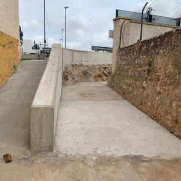Finalitzades les obres de condicionament del barranc Fosc d'Alzira