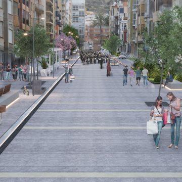 El passeig Dr. Alemany de Cullera es convertirà en un bulevard accessible, semipeatonal i sostenible