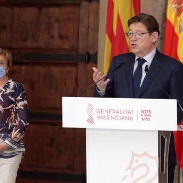 Ximo Puig anuncia el final del toc de queda i de la limitació a les reunions socials