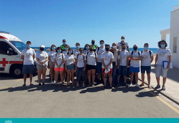 Oliva contracta 17 joves com auxiliars d'informació a les platges