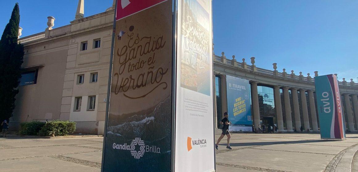 Gandia assisteix a la Fira Turísitica Btravel per a atraure el turisme de proximitat