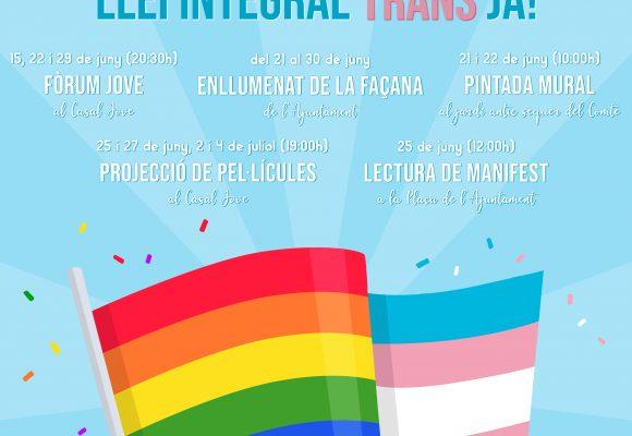 Sueca commemorarà el Dia LGTBIQ+ amb una variada oferta d'activitats