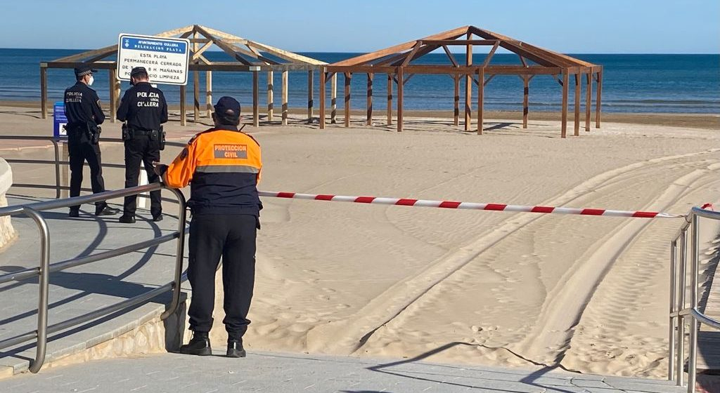 Cullera tanca les platges la Nit de Sant Joan