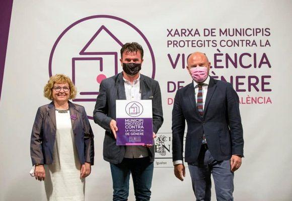El Real de Gandia s'adhereix a la Xarxa de Municipis Protegits contra la Violència de Gènere