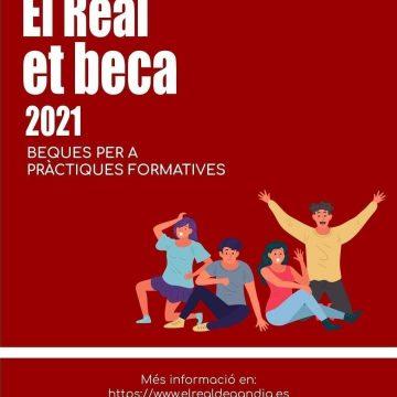 L'Ajuntament repeteix enguany al programa de formació 'El Real beca'