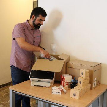 L'Ajuntament d'Oliva millora el seu equipament informàtic