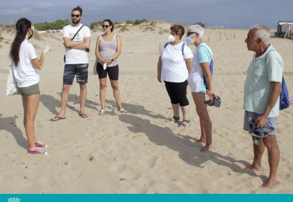 Oliva acull una jornada per a sensibilitzar sobre la presència del corriol a les platges