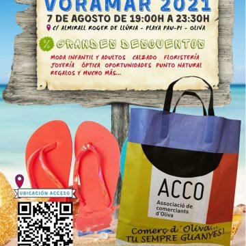 Oliva acull demà dissabte 7 d'agost la 9a edició del VORAMAR