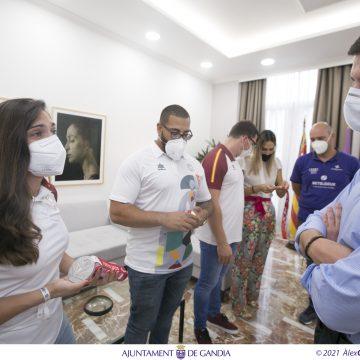 Gandia ret homenatge els medallistes olímpics de CC El Garbí