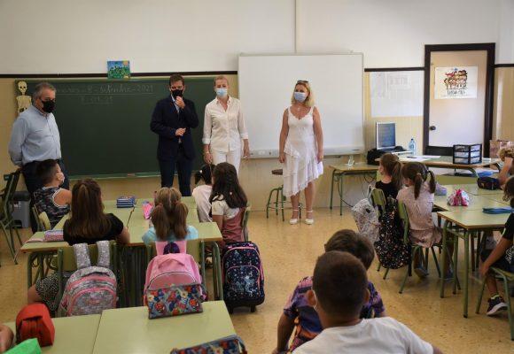 Normalitat en l'inici del curs escolar 2021-2022 a Xàtiva