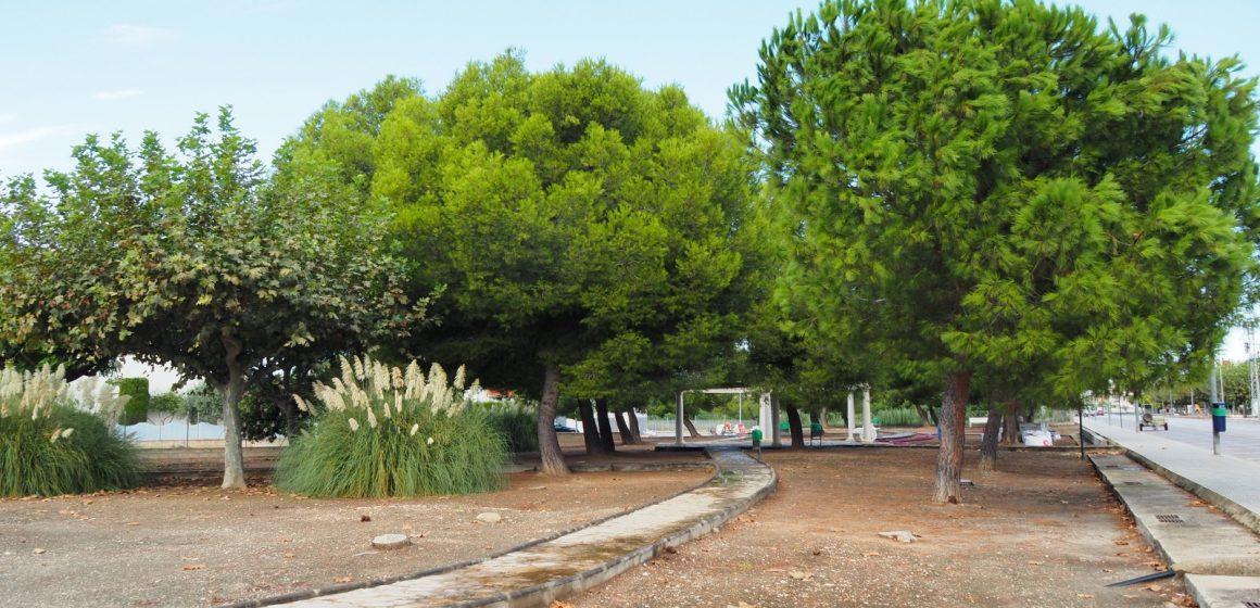 L'Ajuntament de Miramar inicia la instal·lació d'un parc caní a la platja de Miramar