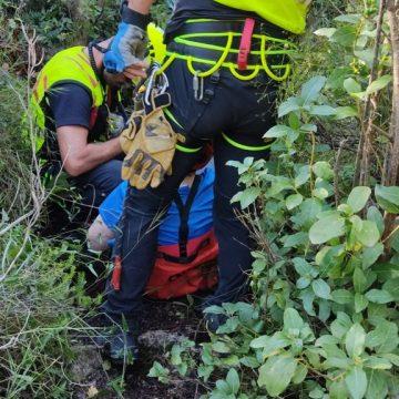 Rescaten a una excursionista ferida en un barranc de Carcaixent