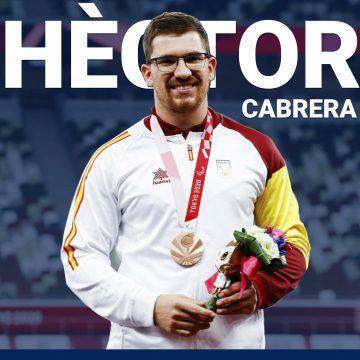 Oliva homenatjarà a Hèctor Cabrera, medallista paralímpic als Jocs de Tòquio 2021