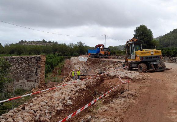 Avancen les obres per les obres per acabar amb les revoltes perilloses de la Font d'En Carròs