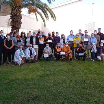 El Departament de Salut de la Ribera reconeix la labor realitzada per les entitats de voluntariat durant la vacunació massiva a la comarca